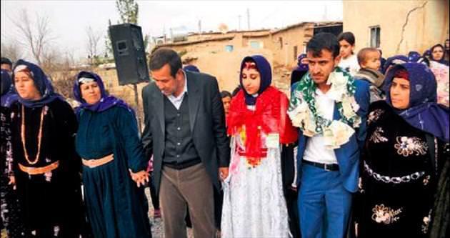 Başlık kalktı evlendiler...