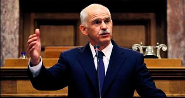 Papandreu'dan nar amblemli yeni parti