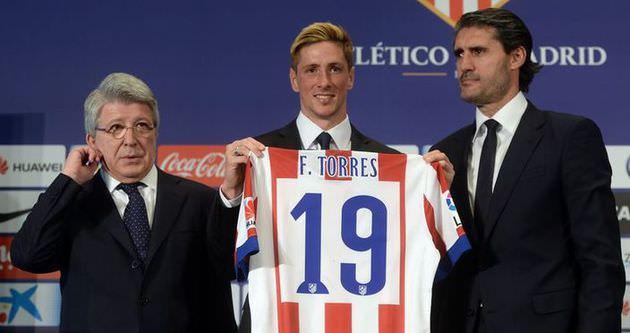 Torres taraftarların karşısına çıktı