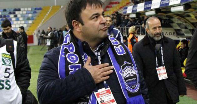 Erciyesspor Başkanı Eren'den hakemlere tepki