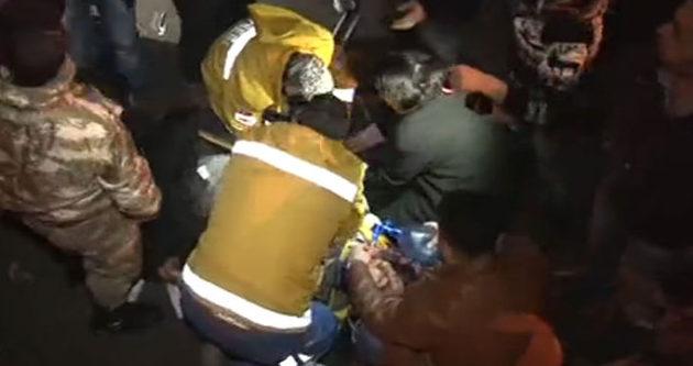Askeri ambulans kanala uçtu: 1 asker şehit!