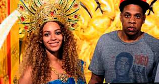 Beyonce'den Tayland pozu