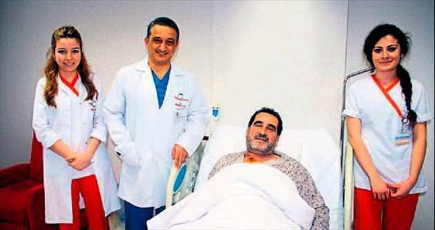 Kalbine aynı anda üç operasyon yapıldı