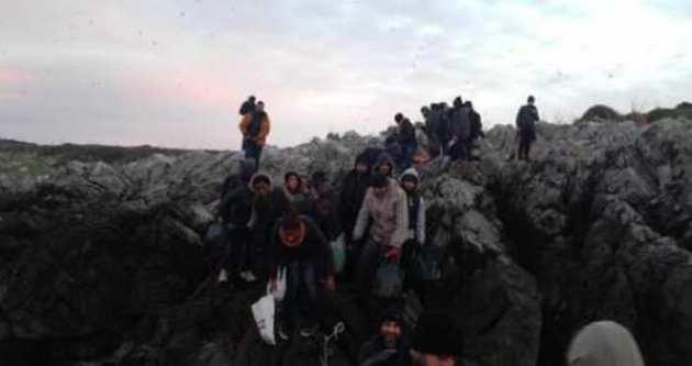 Ege'de 98 kişi son anda kurtarıldı