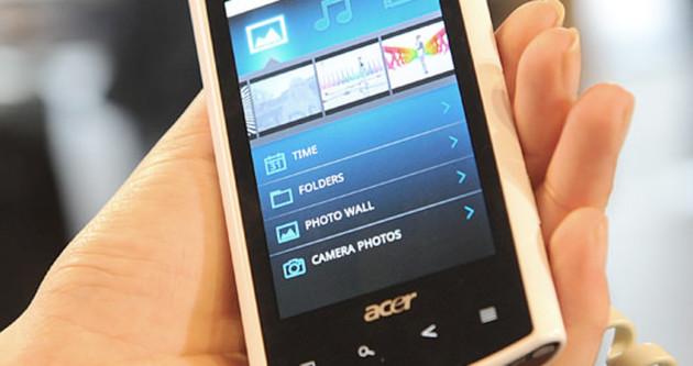 Teknoloji devi Acer'den akıllı telefon atağı