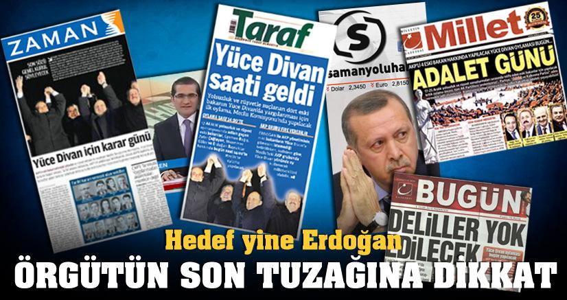 Kumpasın hedefi Erdoğan'ı indirmek