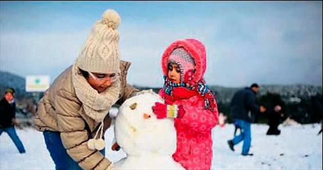 İliklerimiz üşüyecek soğuk ve kar kapıda
