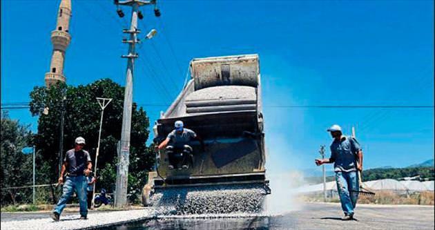 Köy yollarına 45 milyon TL