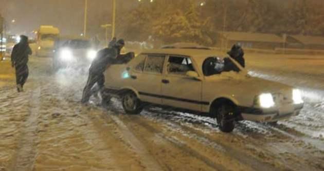 Kar yağışı nedeniyle bu yollar ulaşıma kapandı!