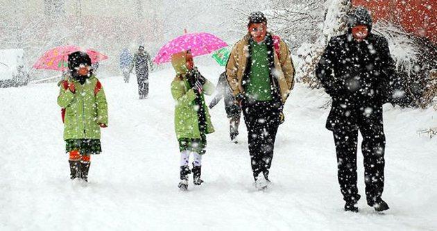 Okullara yarın tatil mi? İşte il il kar tatili