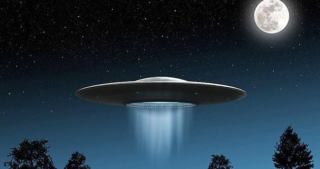 UFO değil gizli uçak denemesiymiş!