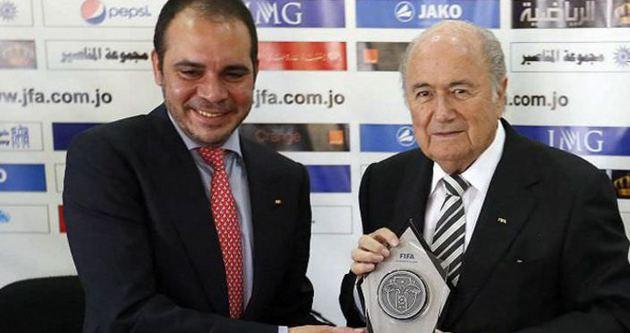 Ürdün Prensi FIFA başkanlığına aday oldu