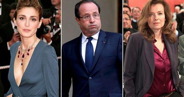 Hollande'ın aşk hayatı film oluyor
