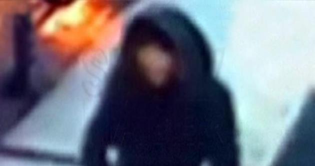 İşte kadın canlı bombanın görüntüsü