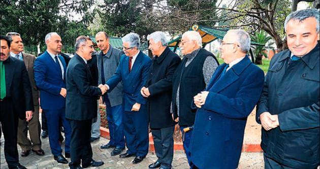 Başkan Çelikcan otağı ziyaret etti