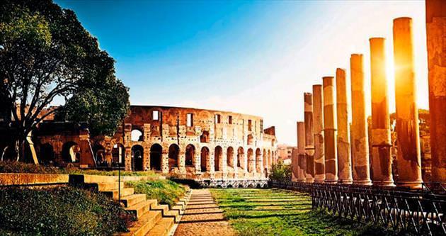 Tarih ve makarna eşittir Roma