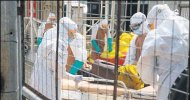 Ebolada ölü sayısı 8 bin 153'e çıktı
