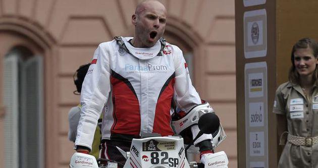 Michal Hernik, Dakar Rallisi'nde öldü