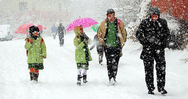 Kayseri'de okullar tatil mi – 9 Ocak Cuma günü tatil mi?