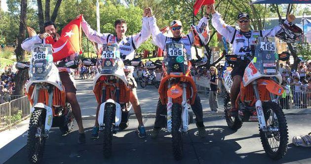 Dakar Rallisi heyecanı devam ediyor