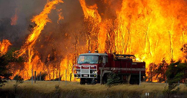 Avustralya'daki yangını NASA da görüntüledi
