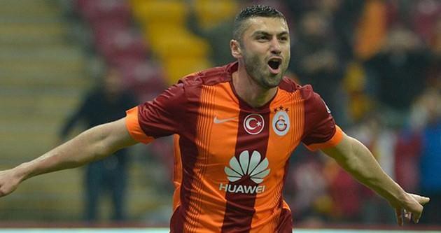 Galatasaray'ı Burak Yılmaz sırtladı