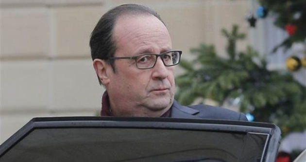 Hollande'dan saldırıya sert tepki