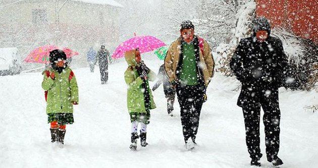 09 Ocak Cuma günü İstanbul'da okullar tatil mi