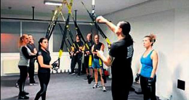 YDÜ'de TRX kursları başladı