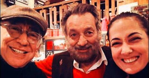 Dahi yönetmenle Taksim buluşması
