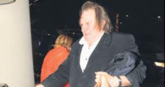 Gerard Depardieu Türkiye'ye geldi