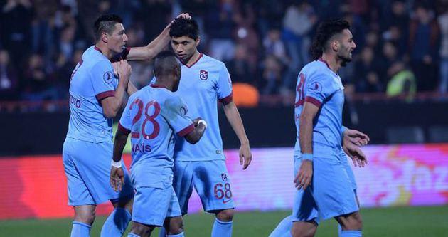 Trabzonspor, 3 kulvarda 51 gol attı