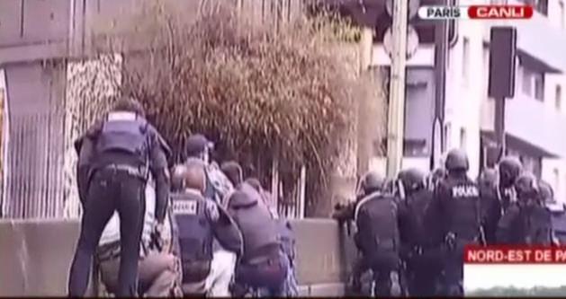 Fransa'da şimdi de markete saldırı!