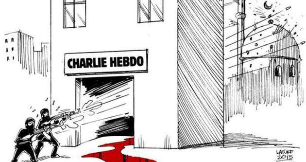 Karikatürist Latuff: İslam dini bu saldırının kurbanlarından biri