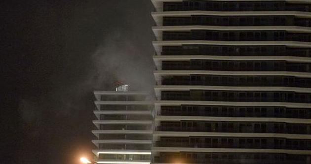 Beşiktaş'taki Zorlu Center'da yangın çıktı