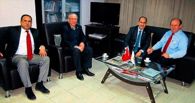 TRT Bölge Müdürü'nden ÇGC'ye tanışma ziyareti