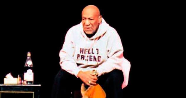 Cosby'nin şakası güldürmedi