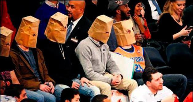 NBA'de kese kağıtlı protesto!