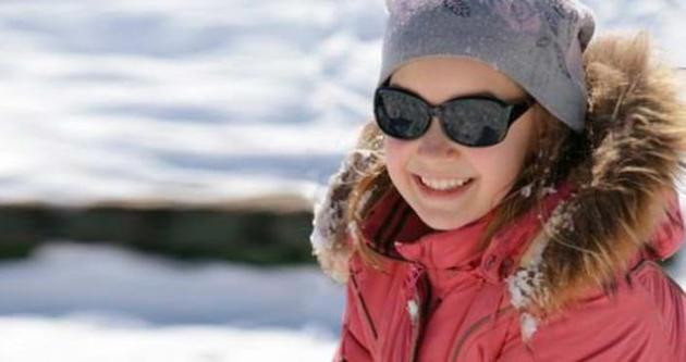 Kar keyfi gözlerinize zarar vermesin