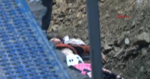 Üsküdar'da üzerine kaya düşen işçi yaşamını yitirdi