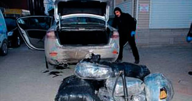 Kırıkkale'de 70 kilo esrar yakalandı