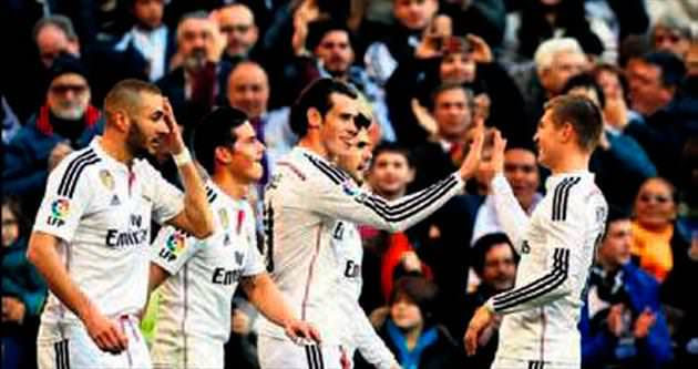 Real Madrid kendine geldi