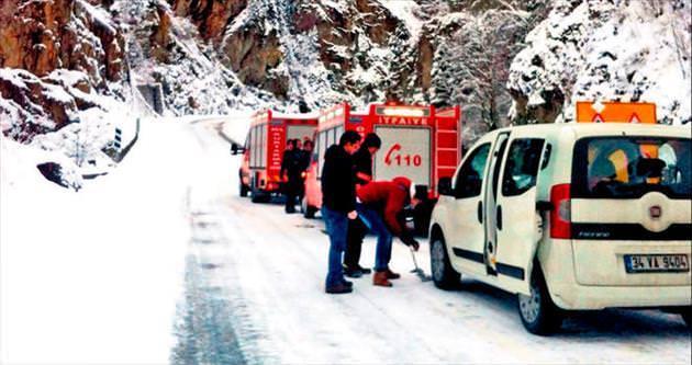 Trabzon'da çığ felaketi