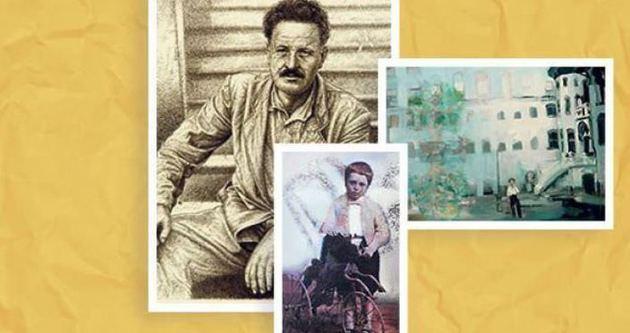 30 ressamdan 30 eserle Nazım Hikmet portresi