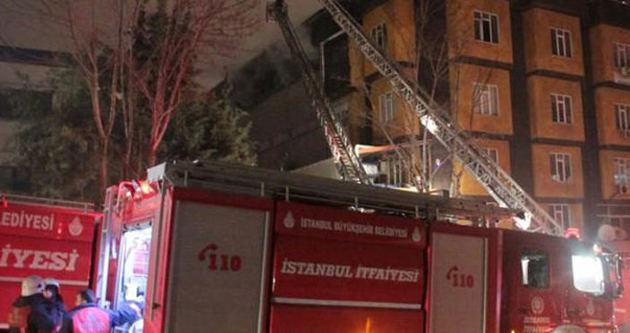 Beylikdüzü'nde sitede yangın dehşeti: 2 ölü