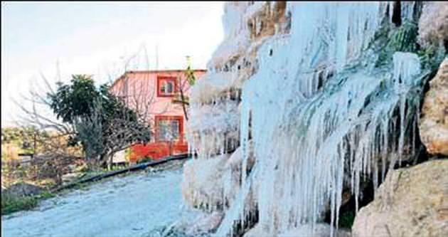 Çukurova bölgesinde kara kış var