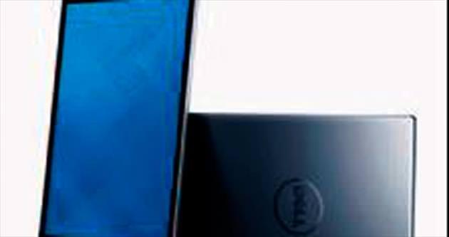 En ince tablet ve bilgisayar vitrinde