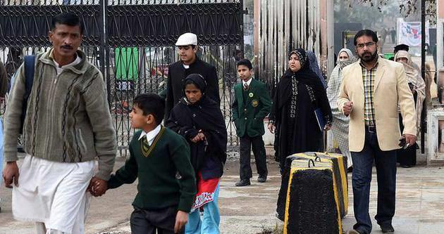 150 kişinin öldüğü okul yeniden açıldı