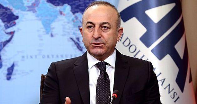 Bakan Çavuşoğlu: 'Paralel Yapı'Türkiye'yi karalamak için çalışıyor