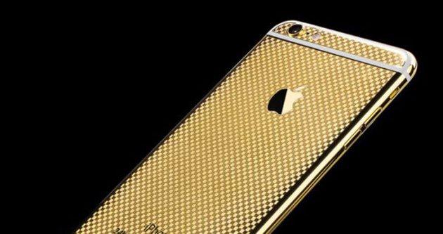 iPhone 6 24K altınla kaplandı